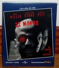 12 MONOS DOCE MONOS COMBO BLU-RAY+DVD NUEVO PRECINTADO THRILLER (SIN ABRIR) R2