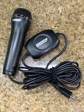 Logitech USB Microphone For Karaoke Video Games A-0060A PS3 PS4 Wii Nintendo
