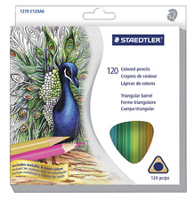 Staedtler Triangular Colored Pencils, Assorted Colors, Set of 120