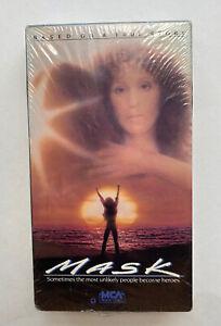 Mask VHS Movie New Sealed 1985 Cher Sam Elliott Eric Stoltz MCA home video