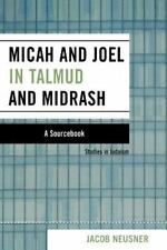 MICAH AND JOEL IN TALMUD AND MIDRASH - NEW PAPERBACK BOOK