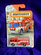 Matchbox Hazard Squad Mbx Rescue #16/20 Red Diecast 1:64 Scale Ages 3 & Up
