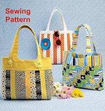 Kwik Sew K177  Bags Reusable Shopping Craft Bag Hand Bag Fat Quarter Friendly