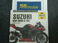 SUZUKI GSXR 600 & 750 06-09 HAYNES MANUAL NEW & STILL IN WRAPPING