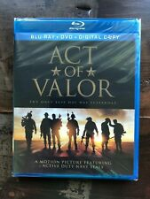 Act of Valor Blu-ray + DVD New Free Ship