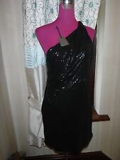 Amazing All Saints Cassis Sequin Dress Black Size 6 BNWT