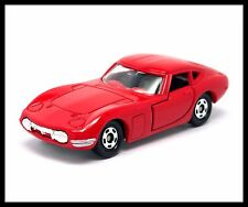 TOMICA 40TH TOYOTA 2000GT 1/59 TOMY DIECAST CAR NEW RED