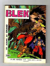 ► BLEK N°498 - LA VENGEANCE DU BARBU - SEMIC JUIN 1992 - TBE