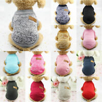 Jumper Pet Sweater Dog Puppy Coat Apparel Knitted Knitwear Winter Jacket Clothes