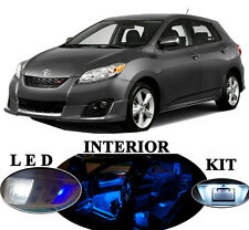 LED Package for Toyota Matrix Blue LED Interior Package Upgrade (6 pieces)