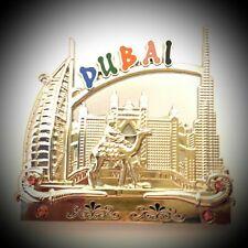 Fridge Magnet Metal UAE Dubai Enamel Tourist Souvenir Collection & Gift O700
