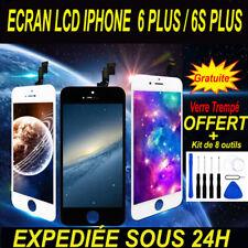 ECRAN IPHONE 6 /6 PLUS /6S /6S PLUS - NOIR/BLANC - LCD VITRE TACTILE SUR CHASSIS