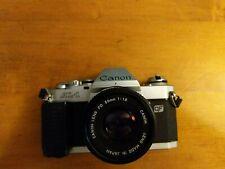 Canon Al-1 35mm Slr Film Camera Kit with Fd 50 mm Lens