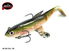 MOLIX PIKE SHAD 140 5,5'' col 136 LIVE RAINBOW TROUT GR 60 PESCA SPINNING LUCCIO