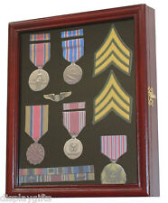 Pin and Medal  Display Case Wall Cabinet  Shadow Box with Glass Door, PC02-CH