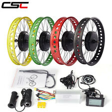 electric snow fat bike Conversion Kit 48V 500W 1000W 1500W 20 24 26in 4.0 Tyre