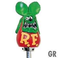 Rat Fink Green Shift Knob Custom Figure Hot Rod Gear vw gasser moon  raf397