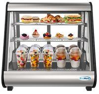 """Countertop 27"""" Commercial Refrigerator Display Case Merchandiser  4.6 cu. ft"""