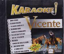 Vicente Fernandez Karaoke CD+Grafics NEW Nuevo