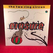 "ERASURE The Two Ring Circus 1987 UK 12"" vinyl Double Single EXCELLENT CONDIT LP"