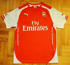 2014 - 2015 Arsenal FC, Home Puma Shirt, Mens Medium, The Gunners