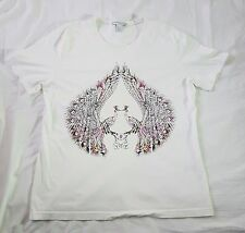 Matthew Williamson for H & M Peacock Print T-Shirt Size Large