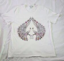 Matthew Williamson for H & M Peacock Print T-Shirt Size Large