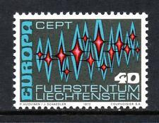 Liechtenstein Gomma integra, non linguellato 1972 sg552 Europa
