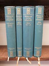Wilhelm and Caroline von Humboldt   4 VOLUMES  IN IHREN BRIEFEN  GERMAN
