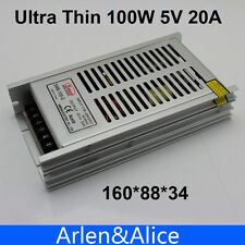 100W 5V 20A Ultra thin Single Output Switching power supply for LED Strip light