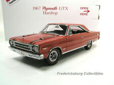 Danbury Mint 1967 Plymouth Gtx - Bright Red - Exc With Original Box &Papers