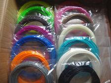 15 Colors ABS 1.75mm 3D Printing Pen/ Printer Filament 10M/Color