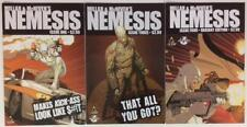 Nemesis #1A, 3A & #4C 1 in 10 Ltd Variant (Icon 2010) FN to FN/VF condition.