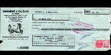 """ASNIERES-sur-SEINE (92) HUILE & GRAISSE pour ARMES ,CUIRS """"OLEUM / R.MILLE"""" 1961"""