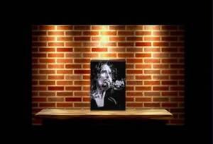 "Chris Cornell 10 ""x 8"" Wallplaque Wood by rock legends art"