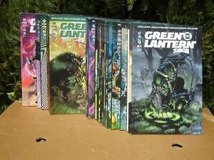 GREEN LANTERN SAGA: LOT DE 24  NUMEROS / MARVEL URBAN COMICS