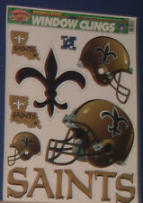 NEW OFFICIAL NEW ORLEANS SAINTS WINDOW CLINGS
