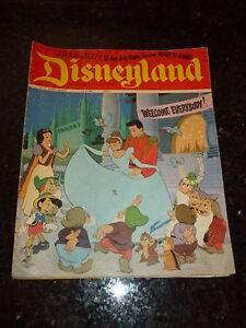 DISNEYLAND Comic - No 3 - Date 1971 - UK Paper comic