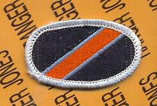 US Army 194th Infantry LRSD Airborne Ranger para oval patch m/e woven