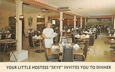 E9997 FL, Bradenton Palmer Restaurant Postcard