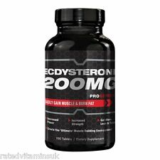 ProSeries Ecdysterone 200mg Ultimate Nitric Oxide Boost Lean Body Power Strength