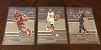 2015-16 Panini Clear Vision Lakers Lot(3) Kobe Bryant Lebron James Anthony Davis