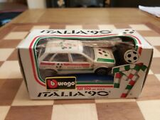Vintage 1986 Boxed Die-Cast BURAGO 1/43 FIAT TIPO World Cup ITALIA 90 MODEL CAR