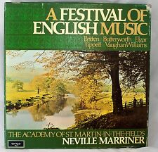 A Festival of English Music four Record LP