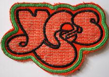 YES Logo Original Vintage 1970`s Embroidered Patch/écusson/aufnäher/parche