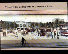 "LYON (69) PEINTURE MURALE / TRAMWAY ""LUMIERE"" & TRANSPORTS Lyonnais"