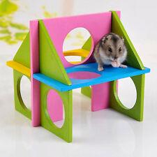 Casa criceto legno casetta gioco divertimento relax palestra per criceto criceti