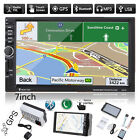 "GPS Navigation 7"" 2DIN Touch Car Stereo Radio MP3 Player Bluetooth FM/USB/TF/AUX"