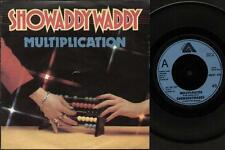 "SHOWADDYWADDY Multiplication  7"" Ps, B/W I Wish I Could Undo All The Bad That I"