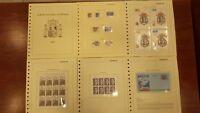 Año completo sellos de España 1995 pruebas Autonomias MP Rey etiquetas A1